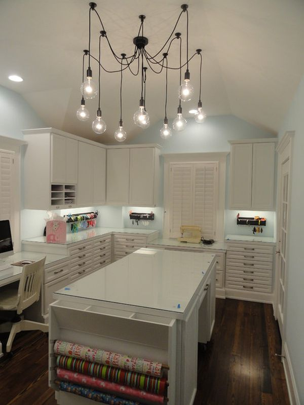 What Light Fixture Is Best For A Craft Room