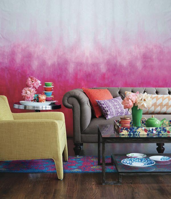 . Tie Dye Walls