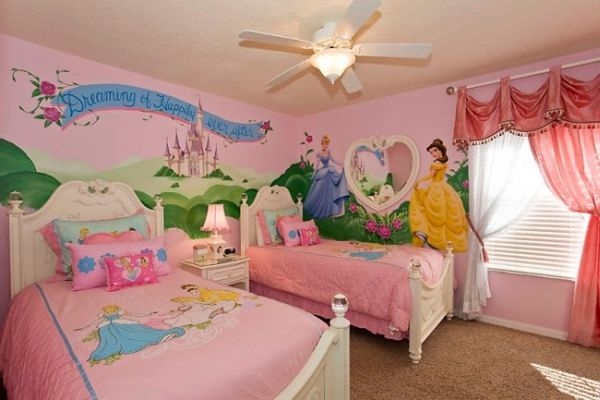 Themed Rooms: Disney Inspired Spaces