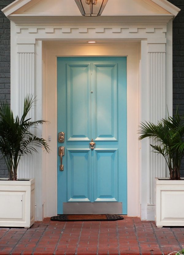 10 bold inspiring front doors - What does a red front door mean ...