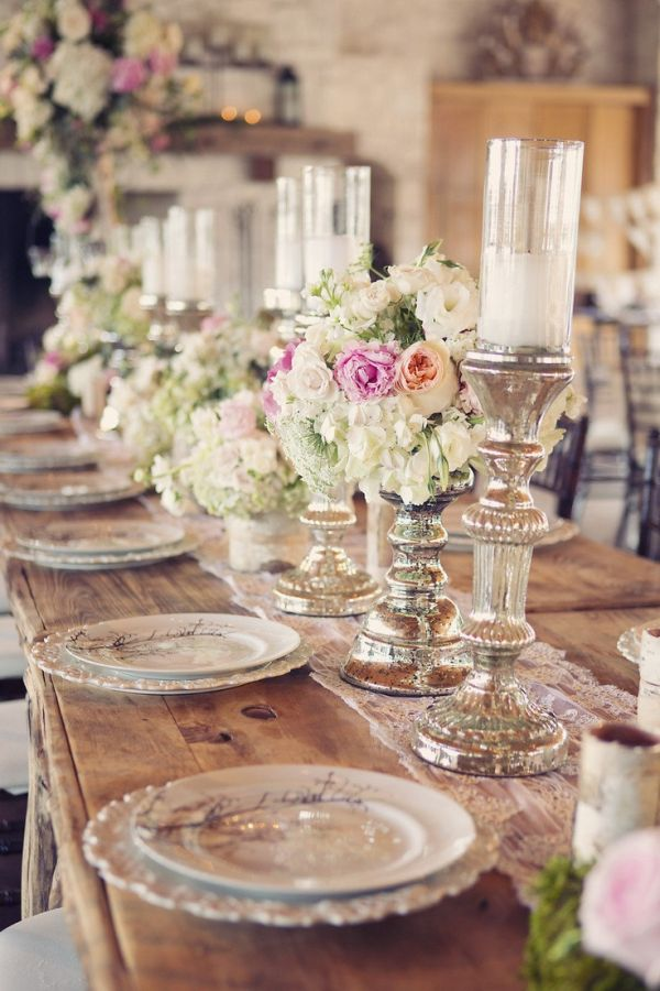 Top 35 summer wedding table dcor ideas to impress your guests junglespirit Images