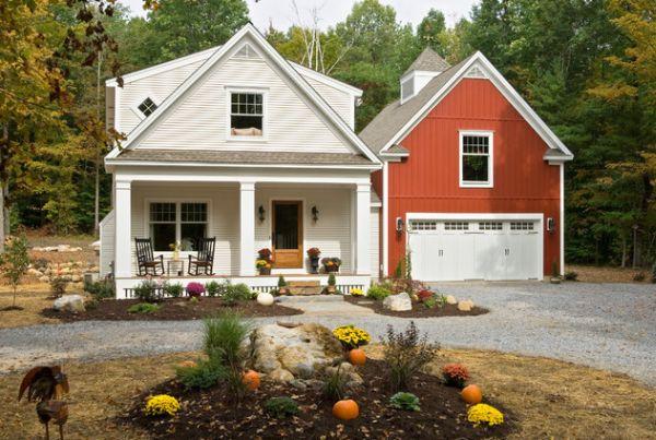 Farm Fall Landscaping Idea