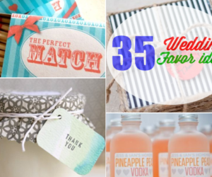 35 Cute And Easy-To-Make Wedding Favor Concept
