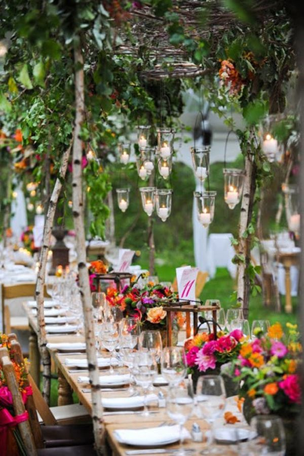 Top 35 summer wedding table dcor ideas to impress your guests junglespirit Gallery