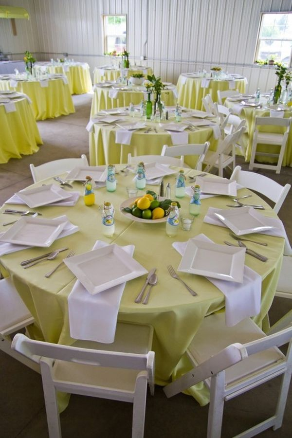 Top 35 summer wedding table d cor ideas to impress your guests Round table decoration ideas