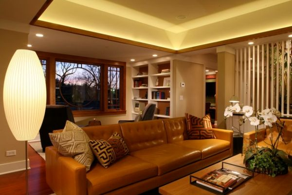 Give Your Living Room An Elegant Look With A Brown Leather Sofa - Manhattan-leather-studio-sofathe-perfect-leather-sofa-for-your-room