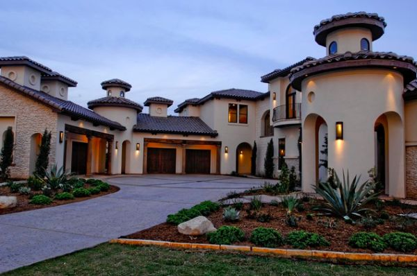 Mediterranean architecture as seen on house exteriors and for Beautiful mediterranean homes