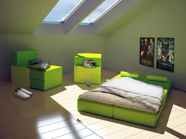 Puzzle furniture – multifunctional fun and very smart