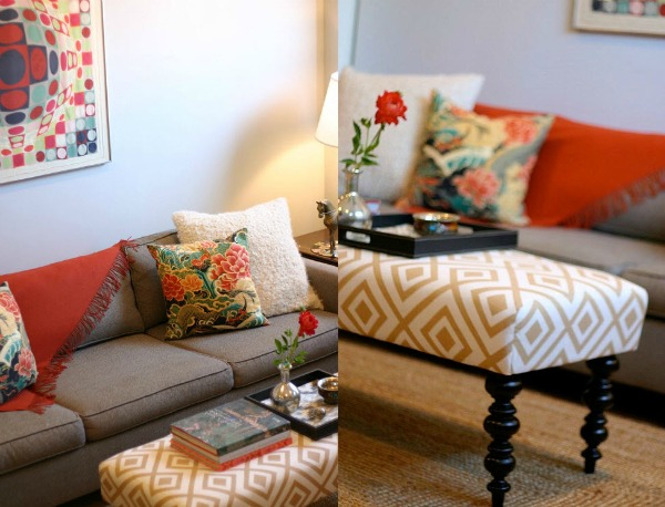 How to maximize seating in a small space for Small room seating