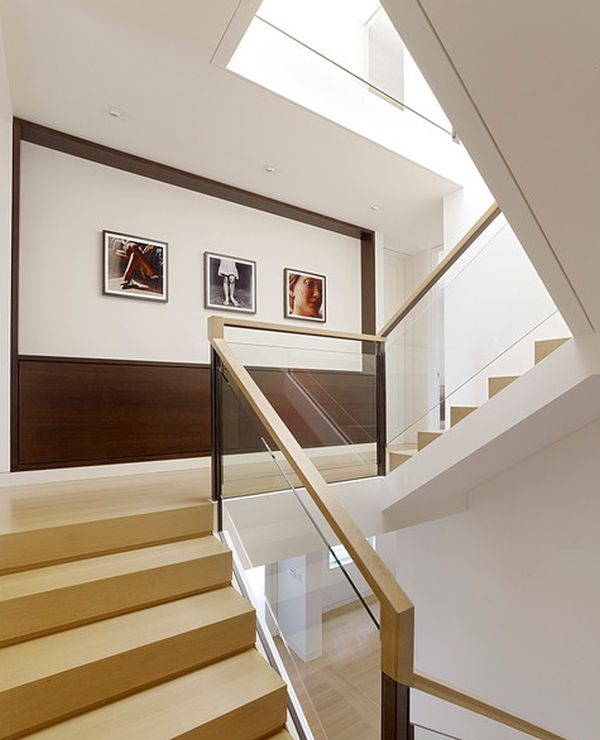 Lighting Basement Washroom Stairs: Make That Staircase Landing Gorgeous