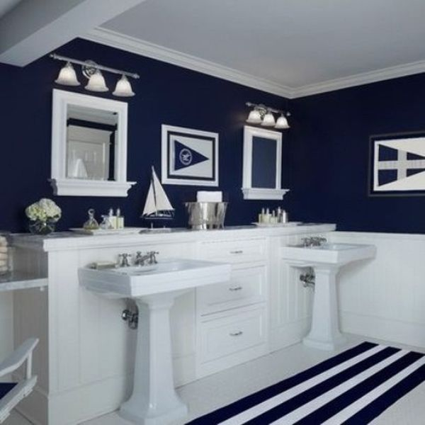Tranquil colors inspired by the sea 11 bathroom designs for Bathroom decor inspiration