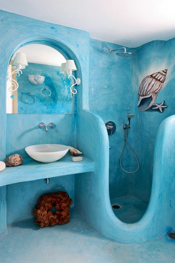 Bathroom Design Colors tranquil colors inspiredthe sea - 11 bathroom designs