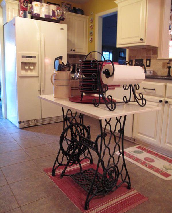 Kitchen Island Singer Sewing Machine