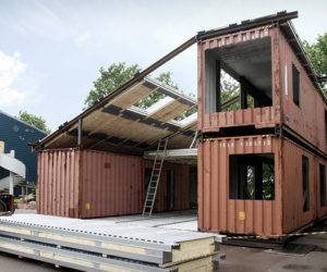 ... The Creative Green Design Of A Shipping Container Home