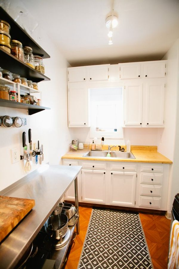 View In Gallery A Narrow Kitchen