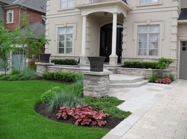 Simple Front Yard Landscaping Idea