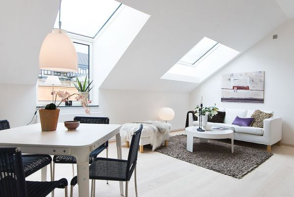 The Perfect Student's Apartment Featuring A Nordic Design