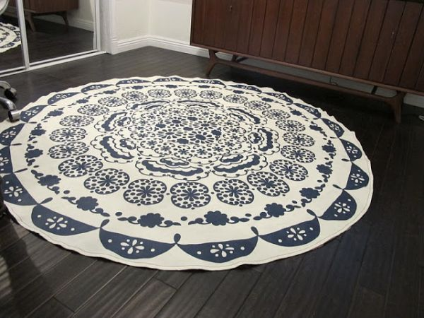 Charming 1. Turn It Into A Rug. Amazing Pictures