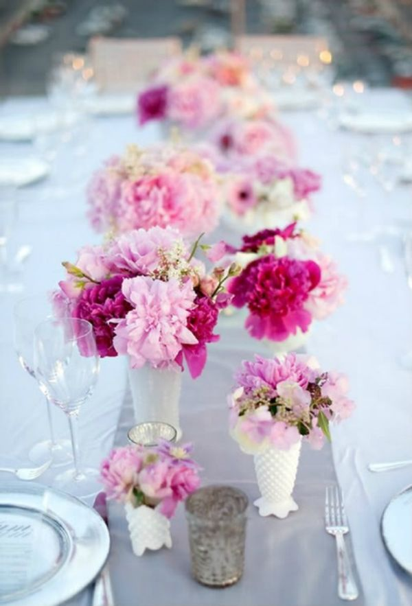 Wedding Featuring C Inspired Centerpieces View In Gallery