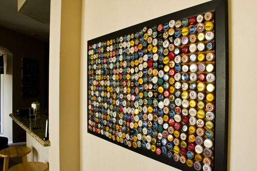 Bottle Cap Decoration Enchanting 10 Ways To Recycle Bottle Caps Design Inspiration