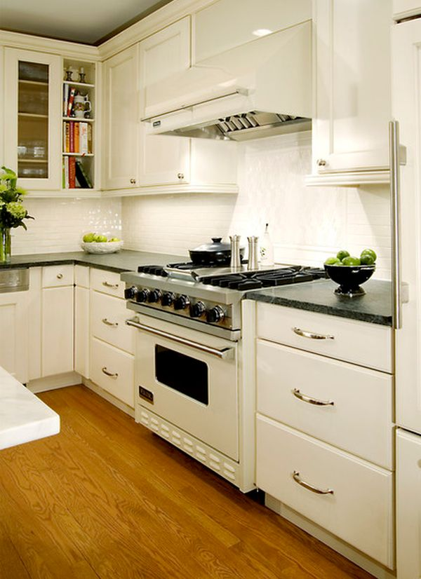 timeless classic  view in gallery  a virtually all white kitchen     stylish kitchens with white appliances   they do exist   rh   homedit com