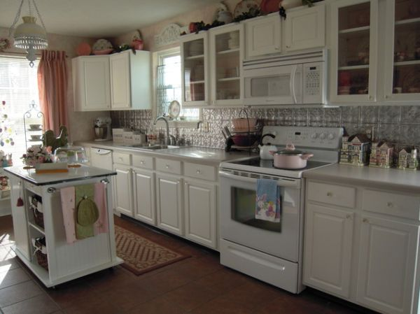 Elegant Cottage Charm. View In Gallery. White Cupboards ...