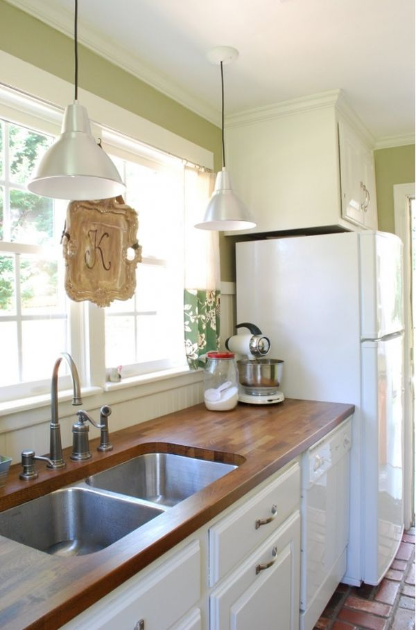Good Kitchen Design Ideas With White Appliances Part - 14: Country Fresh.