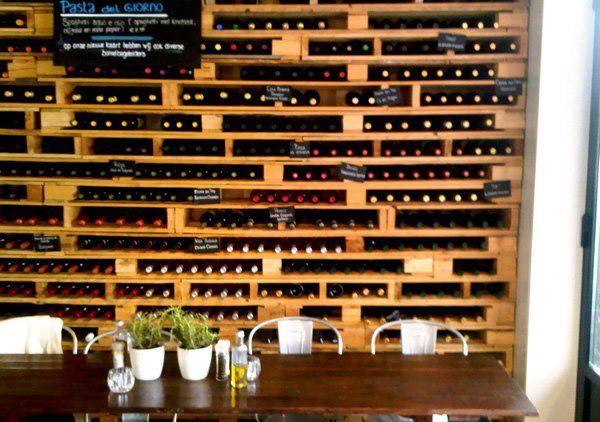 pallet wall wine rack. View In Gallery Pallet Wall Wine Rack A