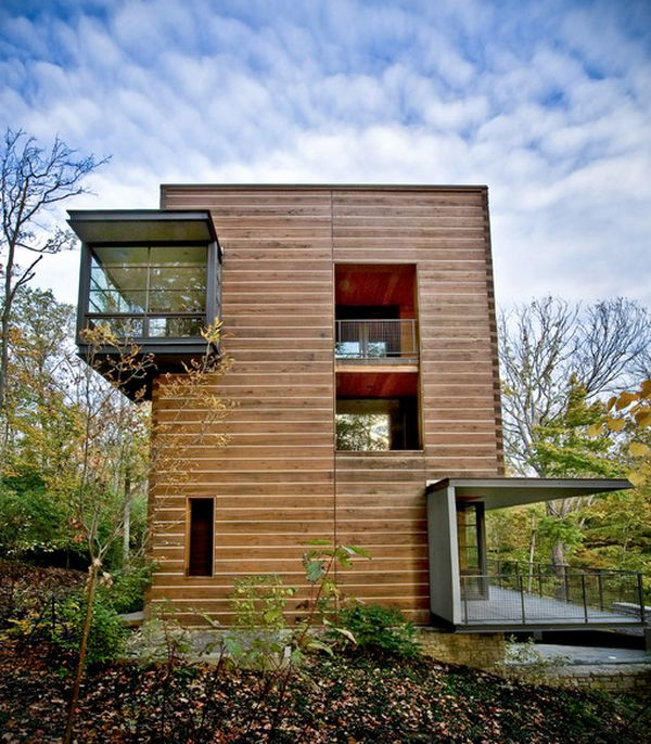 Modern Homes Front And Back: 20 Modern And Contemporary Cube-Shaped Houses