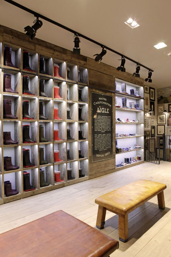 Stock Room Design: 19 Stylish Retail Design Stores Interiors Around The World