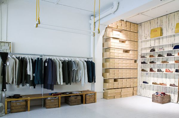 19 stylish retail design stores interiors around the world for Clothing store interior design pictures