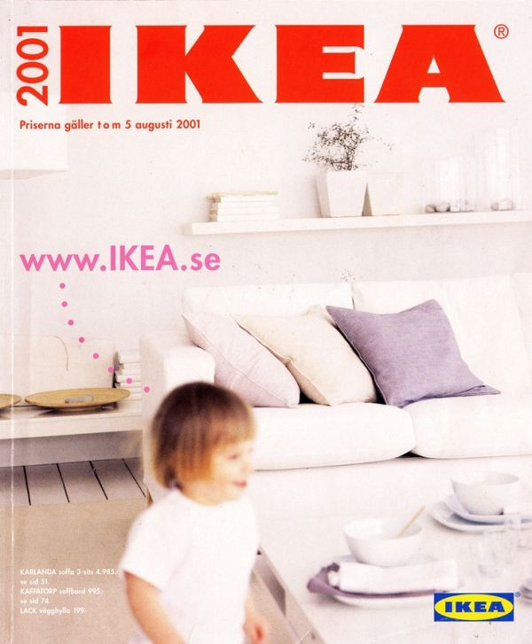 The Evolution Of IKEA Reflected In Their Catalogue Covers From 1951 Till Present
