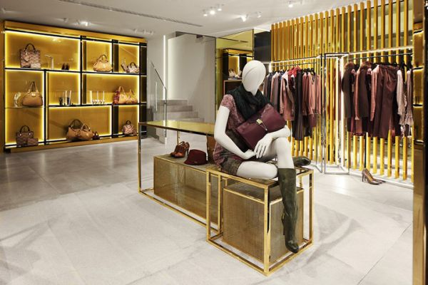 19 stylish retail design stores interiors around the world for Unique design milano