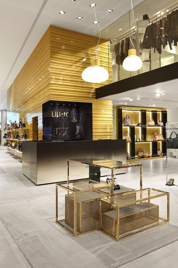 Liu Jo Grand Boutique In Milan.