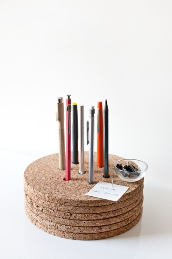 Wooden Pen Stand Designs : Back to school awesome diy pencil holder designs