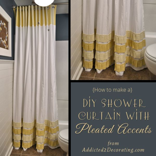how to change the décor of your bathroom with a simple diy shower