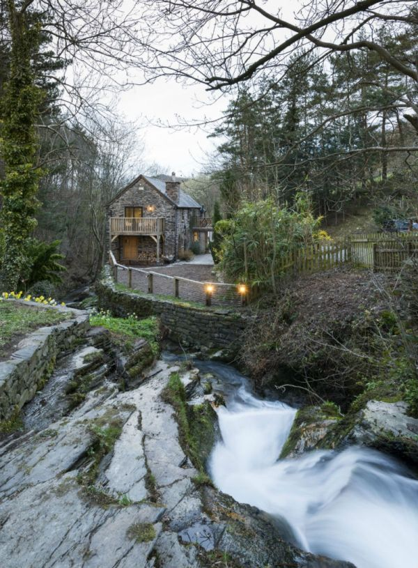 18th Century Water Mill Restored And Transformed Into A Charming Home