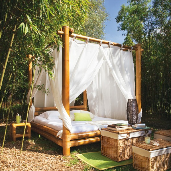 37 outdoor beds that offer pleasure comfort and style for Camas balinesas para jardin