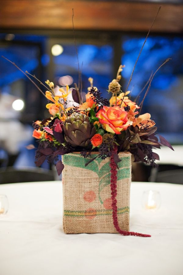 20 Centerpiece Ideas For Fall Weddings : beautiful fall wedding centerpieces 14 from www.homedit.com size 600 x 902 jpeg 72kB