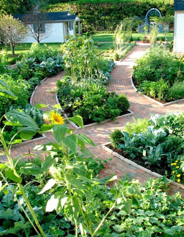 55 inspiring pathway ideas for a beautiful home garden for Stunning garden designs