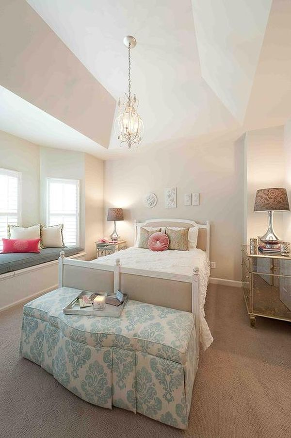 Beautiful 26 Dreamy Feminine Bedroom Interiors Full Of Romance And Softness