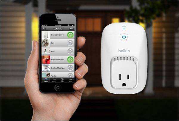 WeMo Home Automation Switch.