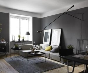 Masculine – Dark Apartment Interior Design