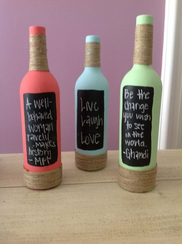 Decorative Wine Bottles Diy Adorable 24 Stunning Wine Bottle Centerpieces You Never Thought Could Inspiration Design