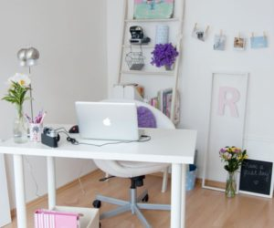 fresh clean workspace home. 30 Best Glam, Girly, Feminine Workspace Design Ideas Fresh Clean Home
