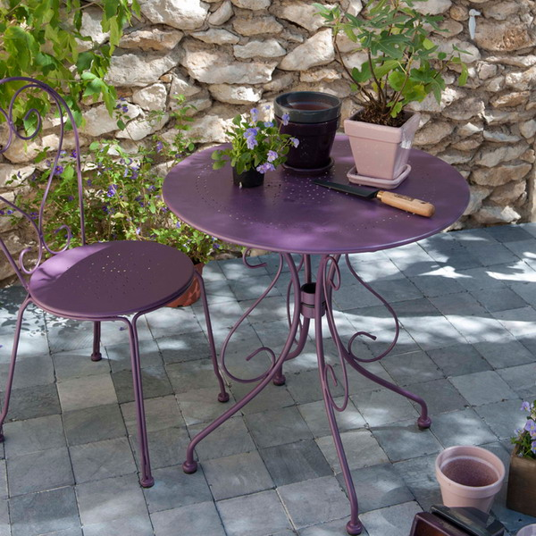 Add color to your garden with eye catching accent details colorful garden furniture workwithnaturefo