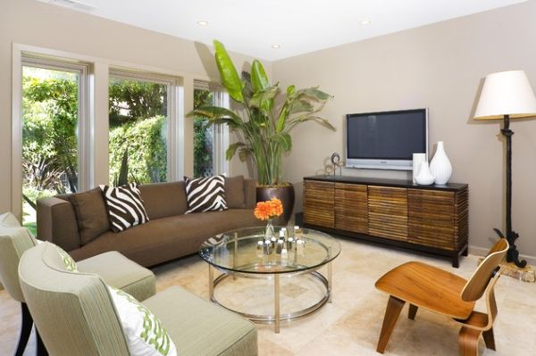 10 decorating tricks and secrets for a perfect decor for How to fill empty corner in living room