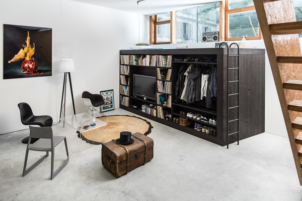 All-in-one Cube Furniture Offers You Everything You Need