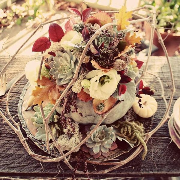 Fall Wedding Ideas Table Decorations: 20 Centerpiece Ideas For Fall Weddings