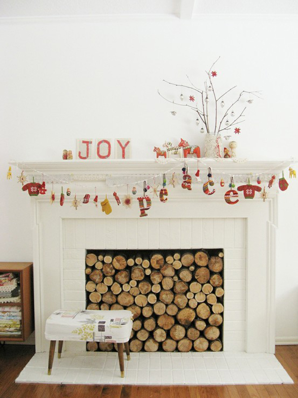 Creative Ways To Decorate Your Fireplace